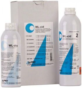 WL-cid zestaw 1× 500 ml WL-clean, 1× 300 ml WL-dry